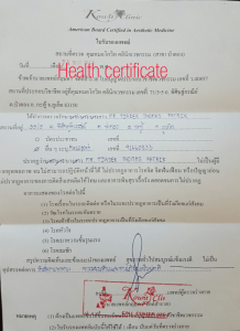 health-certificate-driving-license-in-thailand